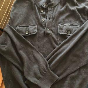 MICHAEL Michael Kors Sweaters - Mens Michael Kors Black Sweater